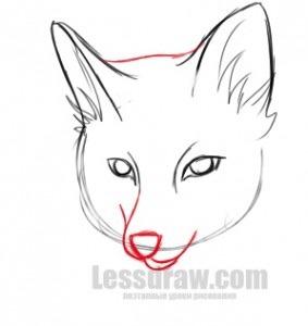 Рисунки лисичек животных