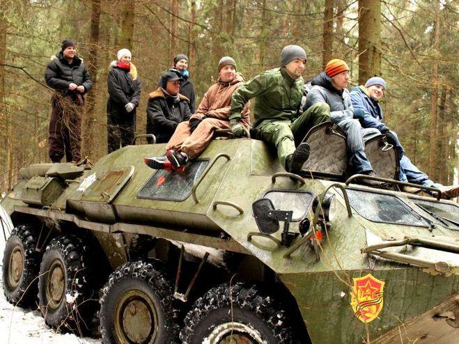 Подарок езда на танке 65