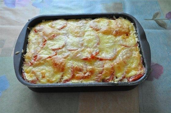 Рецепт кабачки с фаршем помидорами и сыром в духовке рецепт