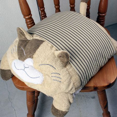 Подушки котик  мастер класс
