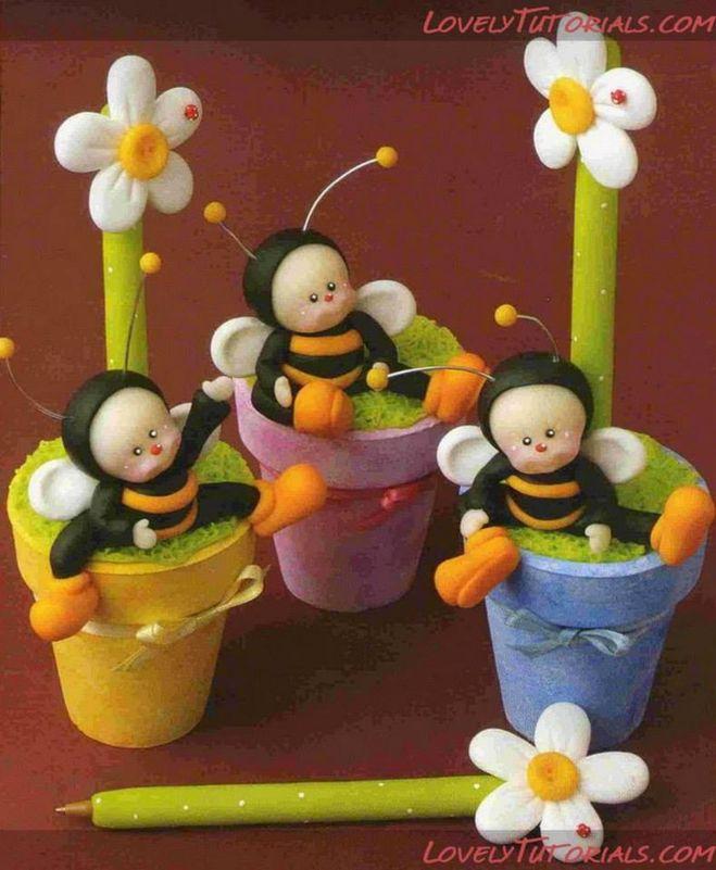 """Как, из чего сделать своими руками пчелу, пчелку? Поделка """"пчелка""""? 5"""