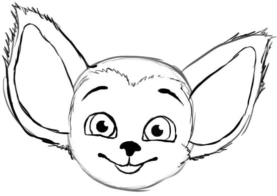 карандашом из рисунки барбоскиных малыша