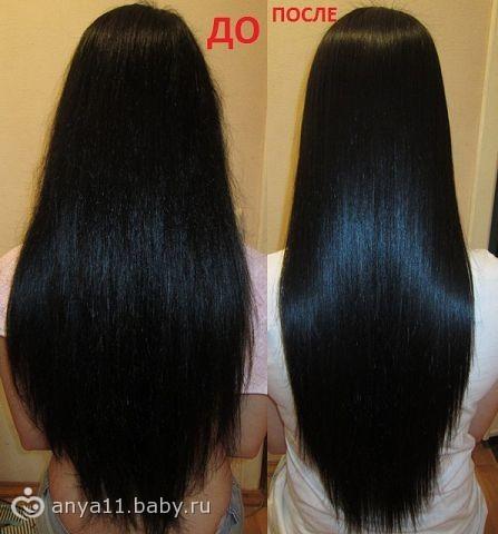 Ламинирование волос на сколько хватает