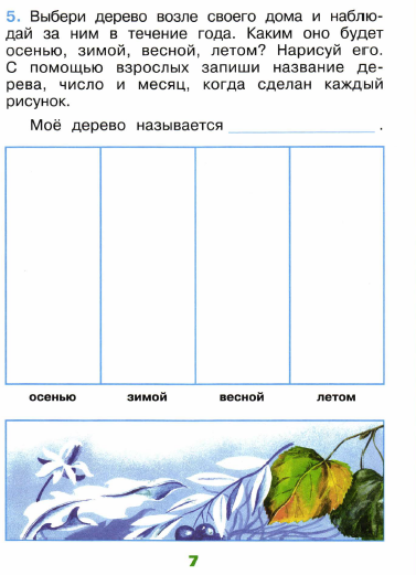 научный дневник по окружающему миру 3 класс с погодой