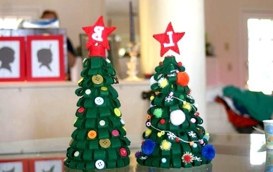Как сделать поделку на новогоднюю елку