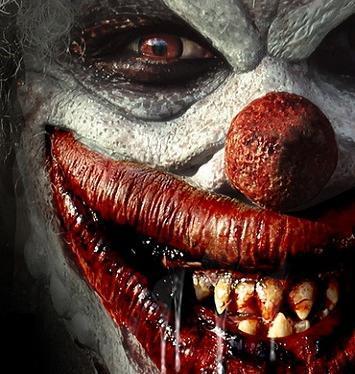 Клоунский нос на резинке