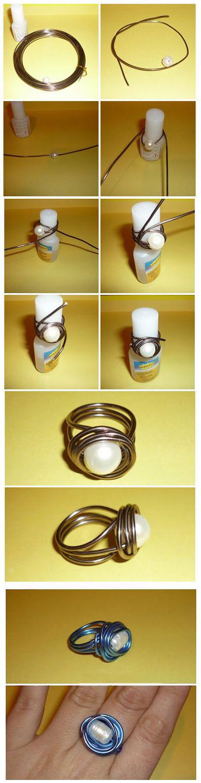 Как сделать кольцо из металла своими руками 66
