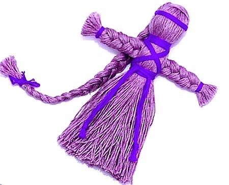 Куклы из шерстяных ниток