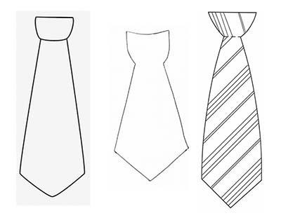 галстук шаблоны