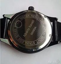 Часы Альберто Кавалли как отличить подделку от оригинала  47a7db3361428