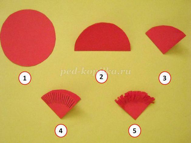 Как сделать гвоздики из цветной бумаги своими руками