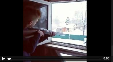 Псковские подростки обстреляли полицейскую машину из ружья