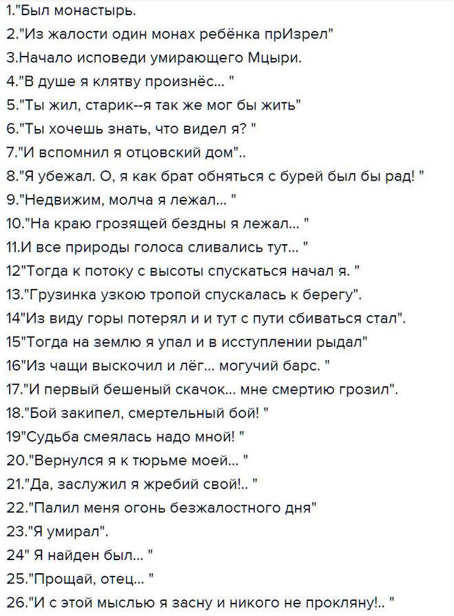 план дубровского по главам 6 класс ответы