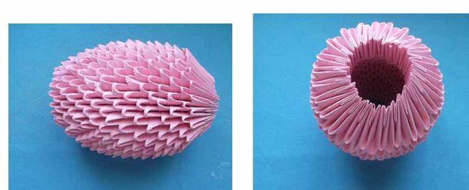поросенок своими руками из модулей оригами мастер-класс