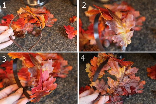 Костюм из листьев своими руками 888