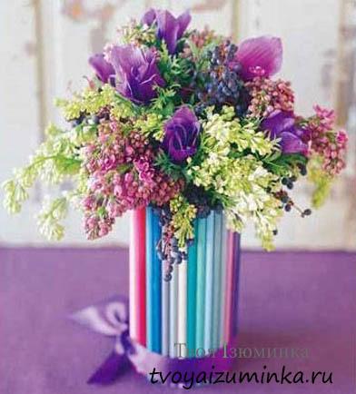 Букет из майских цветов своими руками