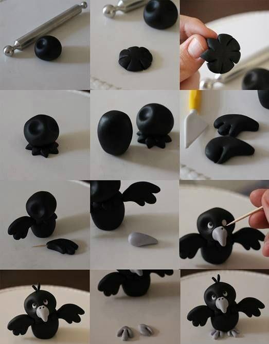 Как из пластилина сделать птичек 695