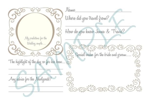 Свадебную книгу пожеланий своими