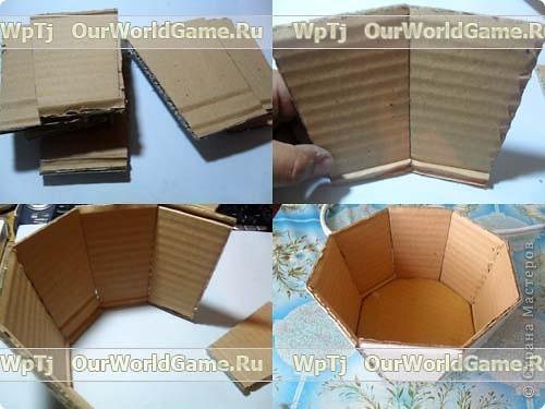 Как сделать корзинку из бумаги и конфет