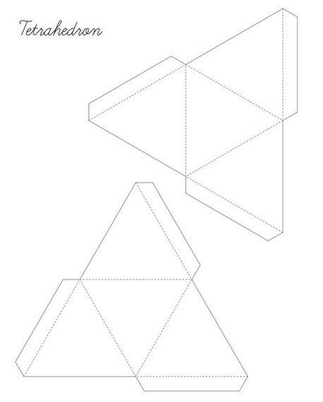 Объемные фигуры своими руками схемы шаблоны 247