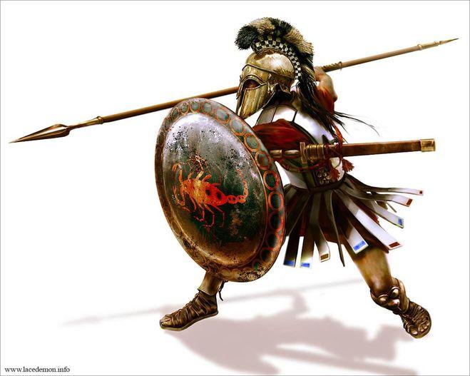 Greek warrior wallpaper