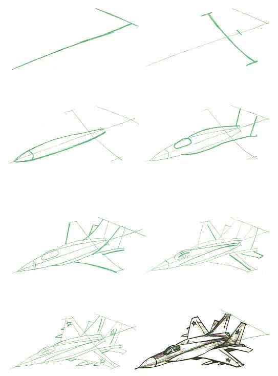 военные картинки карандашом