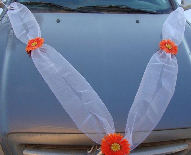 Как своими руками сшить украшение на свадебную машину