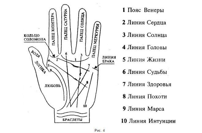 Как узнать по линиям на руках свое