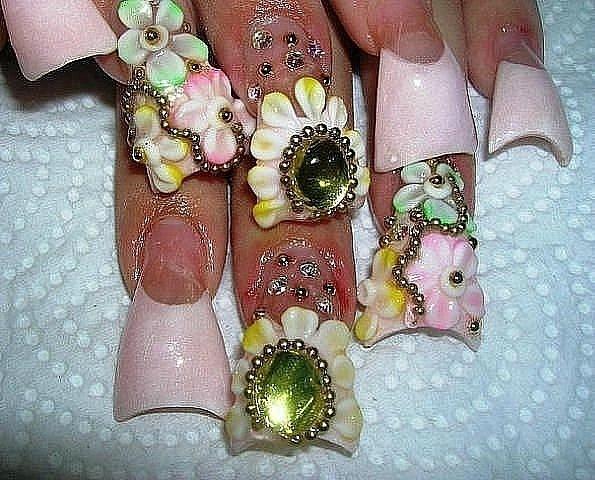 Нарощенные ногти это ужас