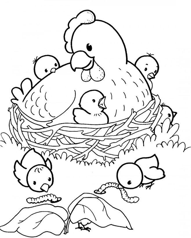 Рисунок о том как животные заботятся о своем потомстве