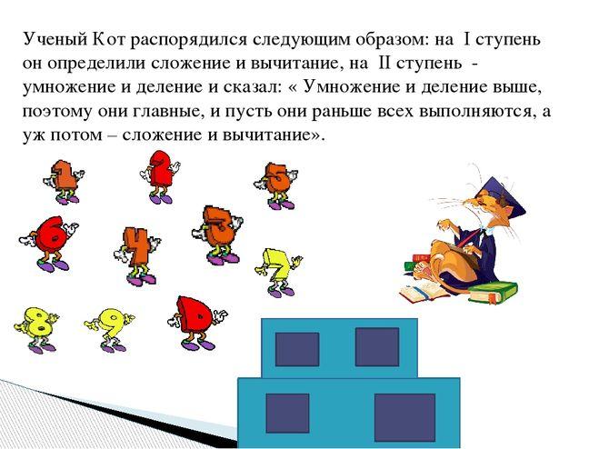 Проект по математике в 3 классе «Математические сказки