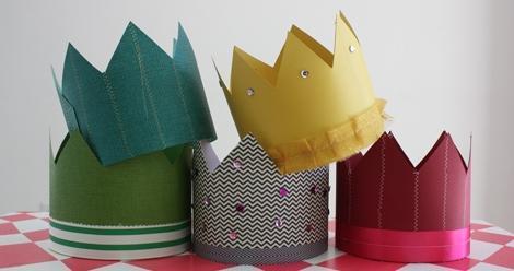 Сделать корону для мальчика своими руками