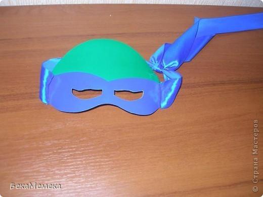 Как сделать повязку черепашки-ниндзя