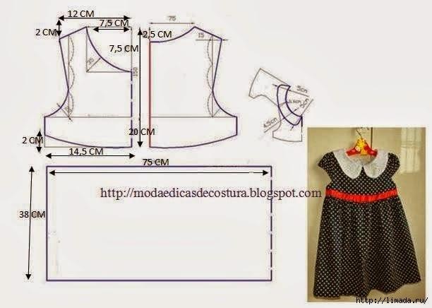 Как сшить платье на ребенка своими руками выкройки