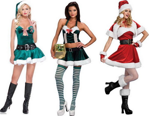 Какие костюмы одевают на новый год
