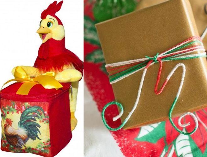 Как упаковать елку в подарок 76