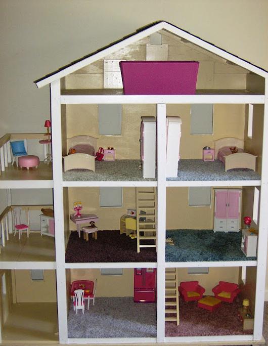 Кукольный домик своими руками для монстер хай фото 527