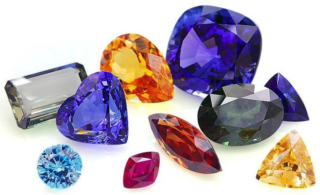 драгоценные камни в каратах