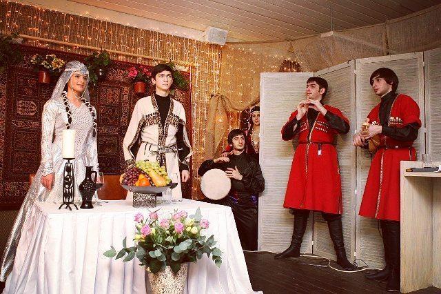 обычаи Кавказа, ингушская свадьба