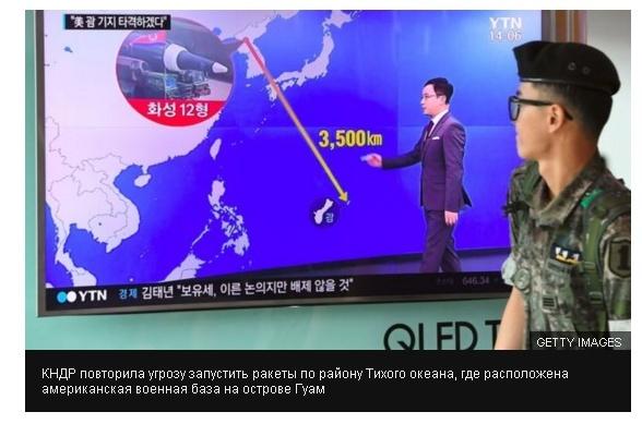 война США с Северной Кореей развитие событий
