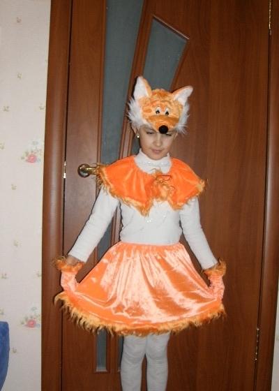 Костюм лисы детский своими руками фото 160