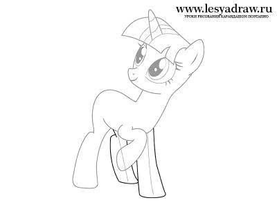 Рисуем искорку пони - 8f6e