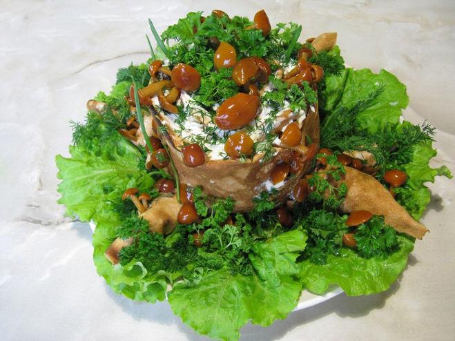 Салат пенечек рецепт