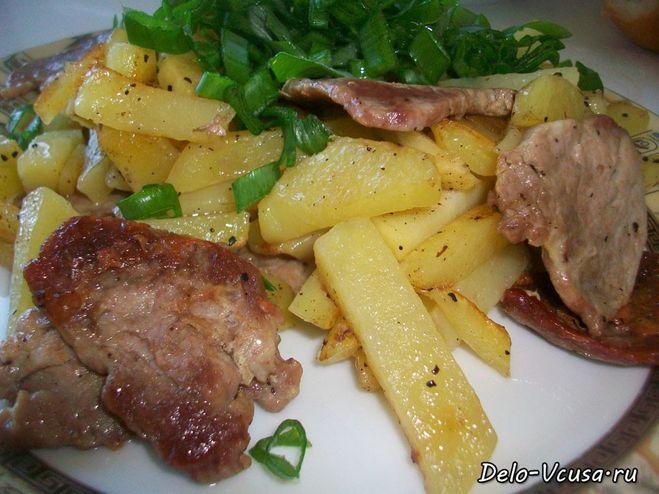 Жаркое с мясом и картошкой в микроволновке рецепт