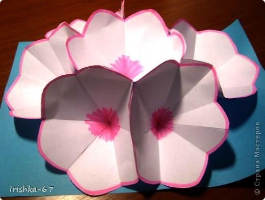 Техника киригами открытки к 8 марта