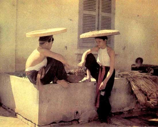 вьетнамские женщины, начало XX века