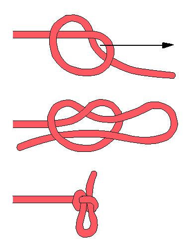 Вязание рыболовных сетей калмыцким узлом 33
