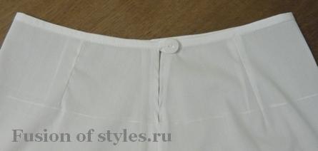 Как сшить подъюбник для юбки прямой