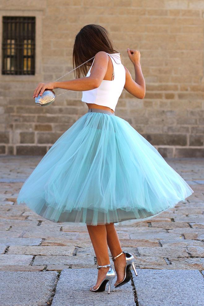 Как сшить пышную юбку с фото