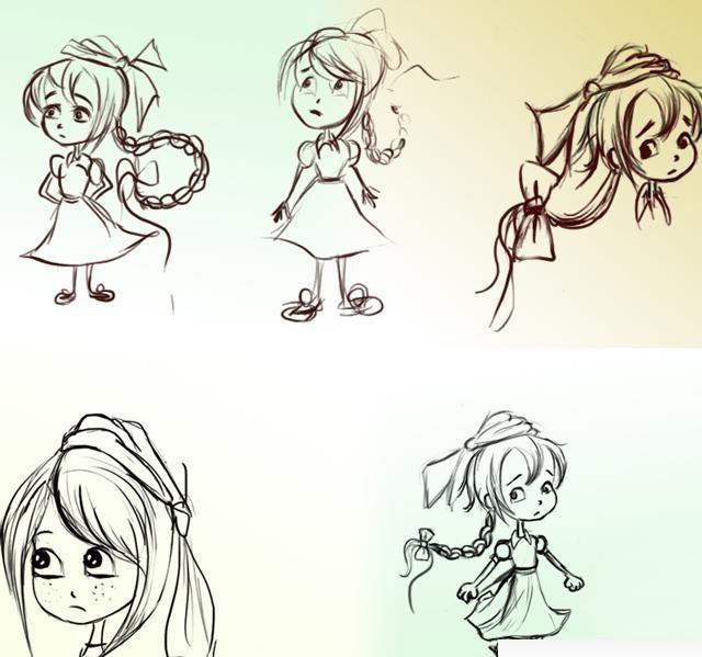 Девушка с воздушным шариком рисунок